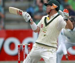hughes and clarke lead australia