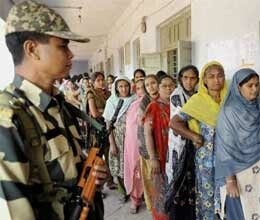gujarat assembly election voting begins second round