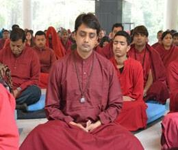 meditation program organised on osho birthday
