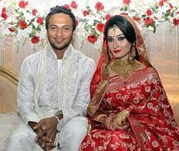 shakib al hasan marriage