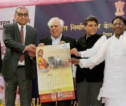 government of india 2013 calendar launch