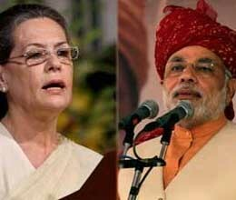 sonia and modi lock horns over sir creek