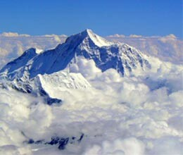 nasa show mount everest hills in india