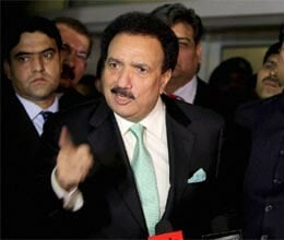 pak wants to take peace process forward with India says rehman malik