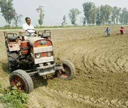 higher yields at lower cost from modern agricultural equipment