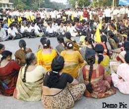 teachers got political parties support