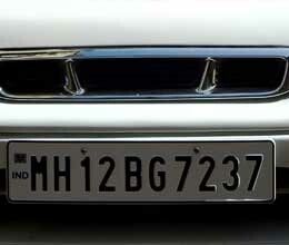 penalty in absence of highsecurity number plate