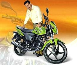 buy suzuki hayate and meet with salman khan