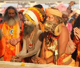 shortage of water in kumbh