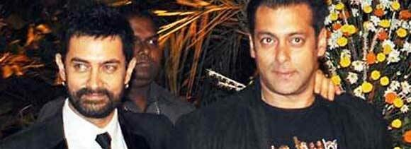 why salman follow aamir?