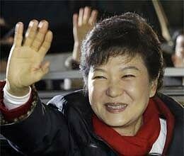 Park Geun-hye Elected President as South Korea