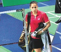 saina nehwal play or not
