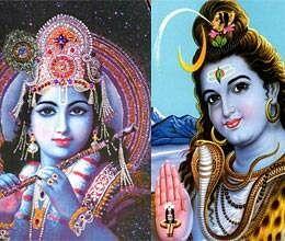 war between krishna and shiva