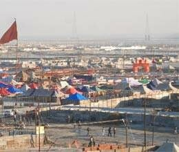 colours will indicate route in kumbh