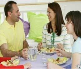 family meals healthier for kids