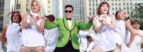 Gangnam Song has broken all previous records