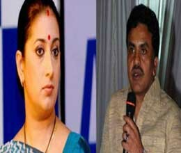 Nirupam attacks smriti Irani personally in a tv show