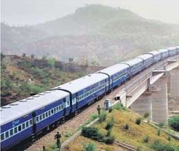 start train from jammu to valley is difficult