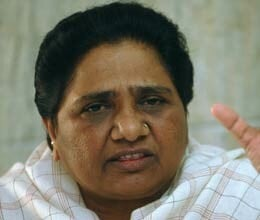 mayawati slams upa on quota in promotion bill