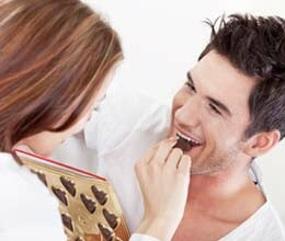 dark chocolate is fruitful for man