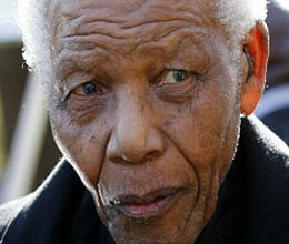 nelson mandela christmas in hospital