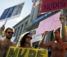 is nudity freedom of expression