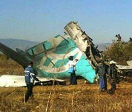 two dead in burma plane crash
