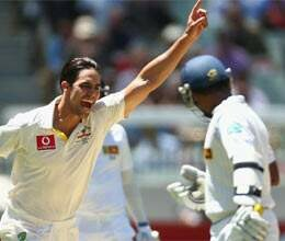australia bundle out sri lanka for 156 runs