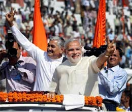 modi won due to work trust of people says praful patel