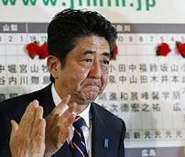 shinzo abe elected as japan prime minister