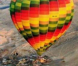 kick off to tour tourists spots in hot air balloons