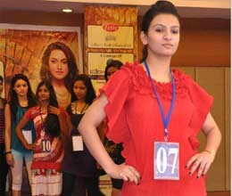fame miss north india models on ramp in lucknow