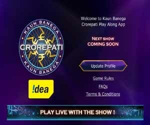 KBC Play Along Mobile Application play live game show