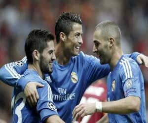 Benzema, Ronaldo get Madrid off to winning start