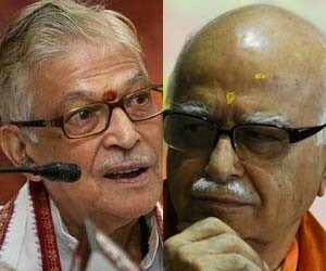bjp send lal krishna advani and murli manohar joshi rajya sabha