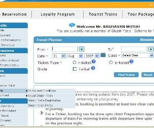 Train reservation stops for 7 hour