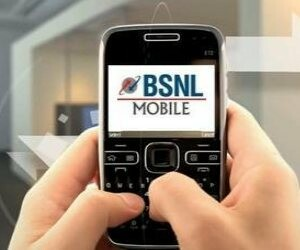 Disrupted telephone and Internet service of BSNL