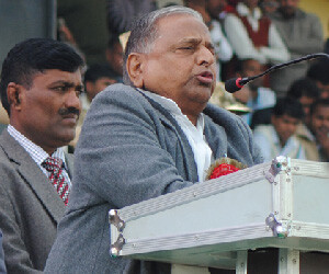 Mulayam Singh motivated his party worker for mp election