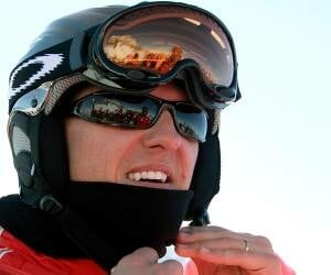 Michael Schumacher in a 'stable' position after skiing accident