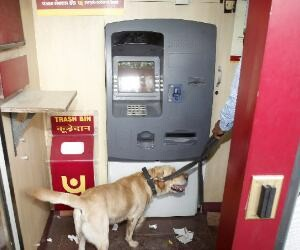 Attempt of ATM Robbing in Chandigarh