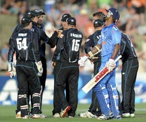india vs new zealand first old in napier