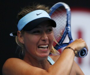 maria bow out after serena in australian open
