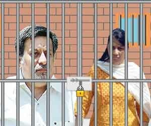 Talwar couple celebrated their wedding anniversary in prison