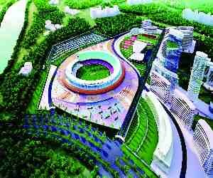 become International Cricket Stadium in Ghaziabad