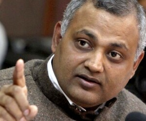 bjp call aap leader somnath bharti resignation