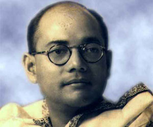 government and mp forget subhash chandra bose