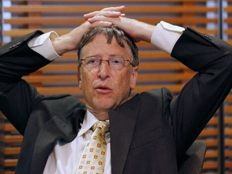 Bill Gates lost to carlson just 79 seconds