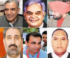Six claimants of Chandigarh Congress for Loksabha Elections