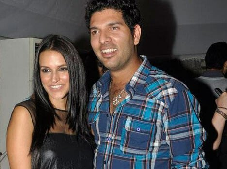 affairs of criceter yuvraj singh