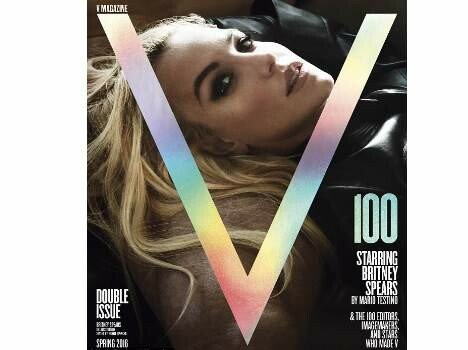 britney spears has her new photoshoot for V magazine
